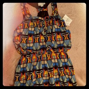 Never Worn Jessica Simpson Bold Geometric Dress